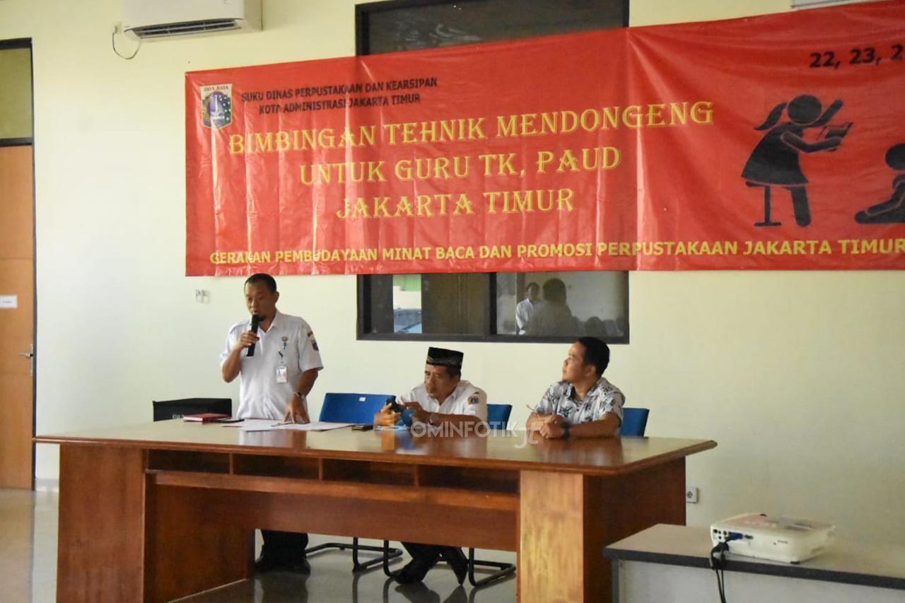 Bimtek Mendongeng Guru TK Dan PAUD Jakarta Timur
