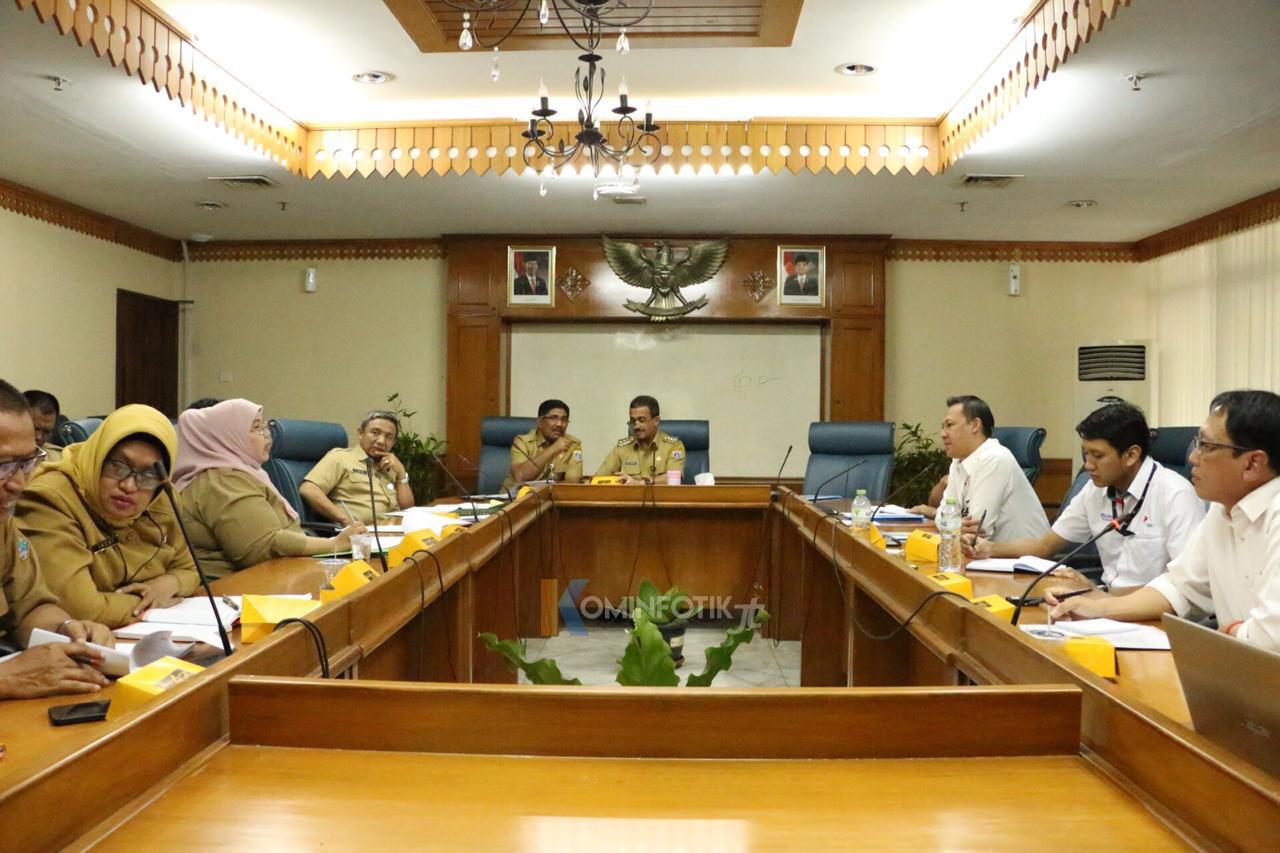 Penerimaan Audiensi PT. Rajawali Nusantara Indonesia