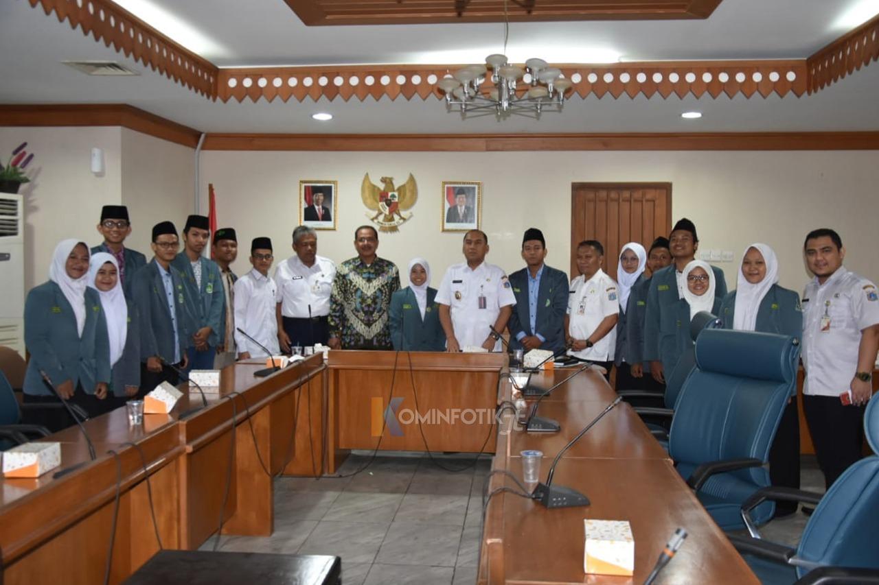Audiensi Bersama IPNU Dan IPPNU Jakarta Timur
