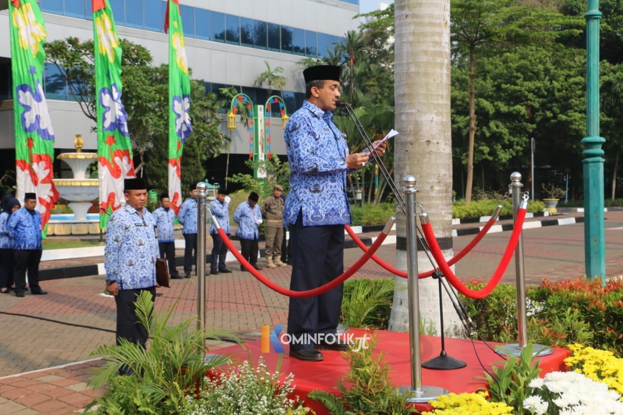 Peringatan Hari Pahlawan Di Pemkot Jakarta Timur