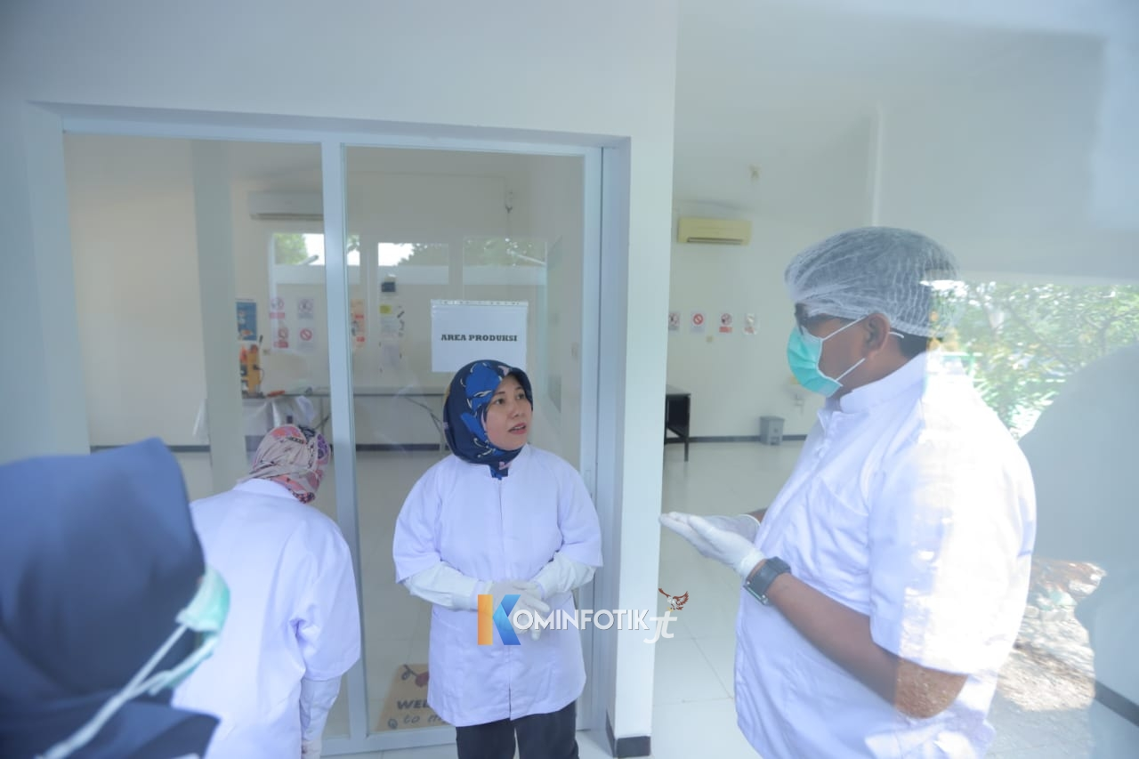 Sentra Unit Pengolahan Hasil Susu Di Peternakan Cibugary