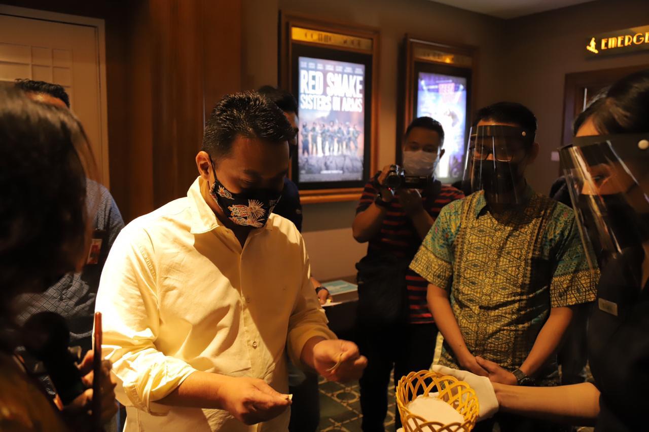 Wagub DKI Jakarta Cek Protokol Kesehatan Di Bioskop Cililitan