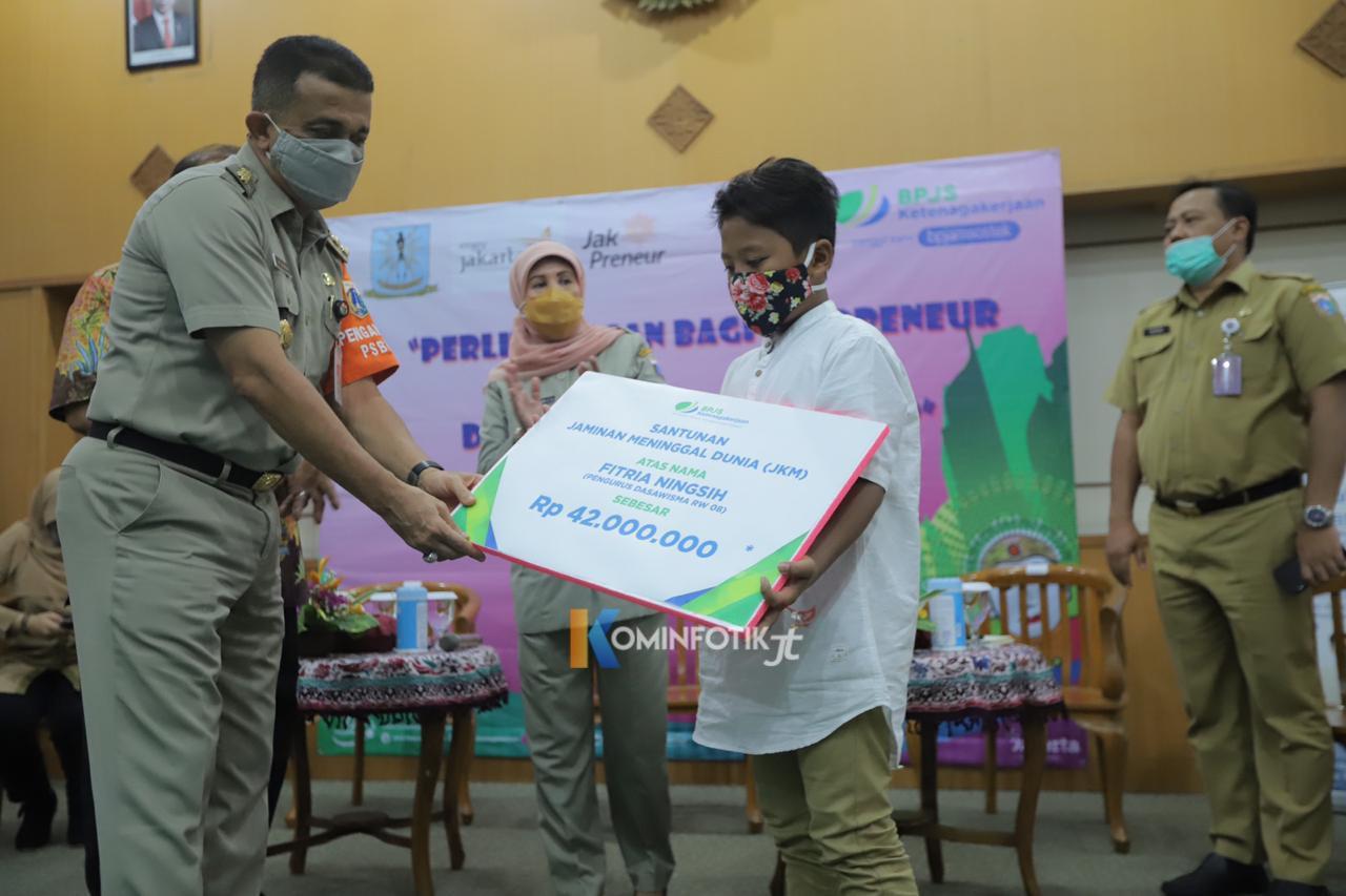 Webminar Bersama BPJS Ketenagakerjaan Untuk Warga Jakarta Timur