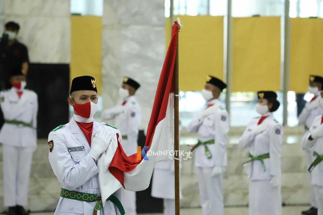 Pengukuhan Paskribraka Kota Jakarta Timur