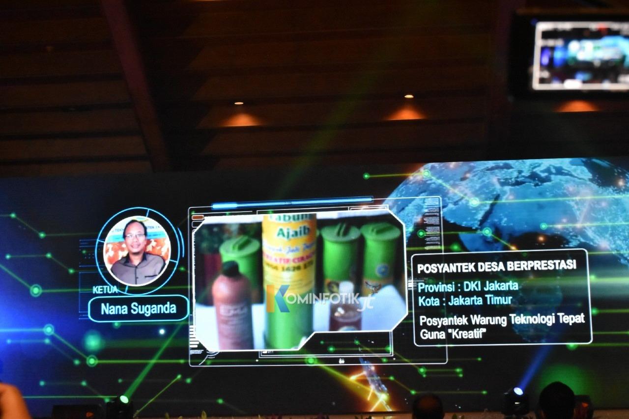 Kota Jakarta Timur Di Lomba Teknologi Tepat Guna (TTG) XXII Tahun 2021