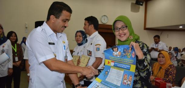 Wali Kota Buka Sosialisasi Penguatan Program Imunisasi Dan STBM