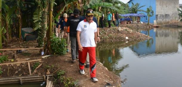 Wali Kota Pimpin AKMP Di Waduk Surilang RW 12 Kelurahan Gedong