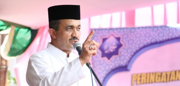Wali Kota Hadiri Peringatan Maulid Nabi Muhammad
