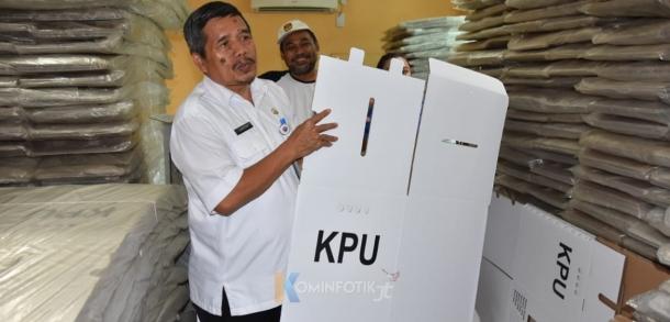 Peninjauan Logistik Pemilu 2019 Kecamatan Ciracas