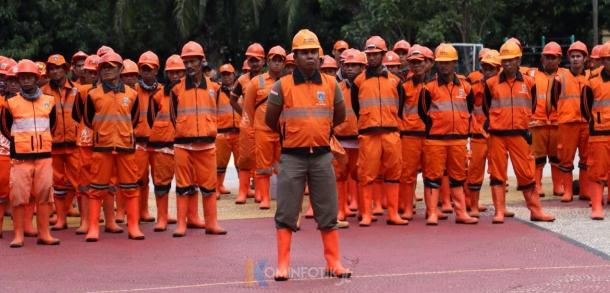 Apel Petugas PPSU Jakarta Timur