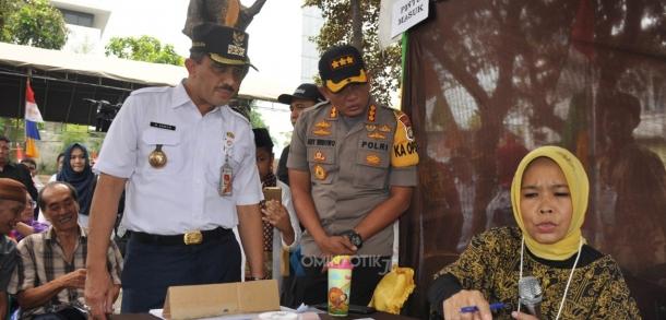 Wali Kota Jakarta Timur Bersama Forkopimko Meninjau Proses Pemilu 2019