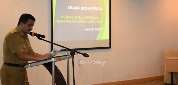 Diseminasi Informasi Surveilans Gizi Tingkat Kota Jakarta Timur