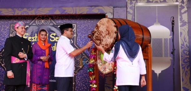 Pembukaan Festival Seni Pukul Beduk Tingkat Kota Jakarta Timur