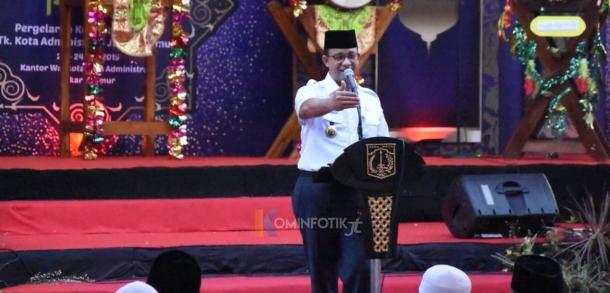 Buka Puasa Bersama Gubernur DKI Jakarta Di Jakarta Timur