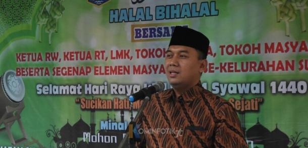 Halal Bi Halal Kelurahan Susukan Bersama Wakil Wali Kota