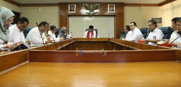 Rapat Audiensi Wali Kota Bersama PT. JIEP
