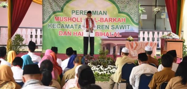 Halal Bi Halal Dan Peresmian Masjid Al-Barkah