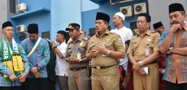 Pelepasan Calon Jemaah Haji Di Kelurahan Jatinegara Kaum