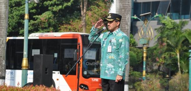 Pelepasan Ribuan Petugas PPSU Berwisata Ke Dufan Ancol