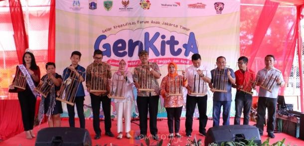 Peringatan Hari Anak Di Jakarta Timur