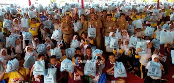 Kampanye Gemarikan Di SD Negeri 24 Kelurahan Kramat Jati