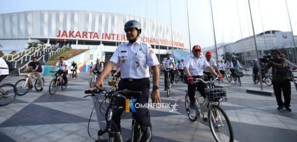 Percobaan Jalur Sepeda Dari Jalan Pemuda Hingga Balaikota