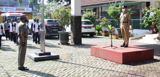 Apel PSBB Di Kecamatan Pasar Rebo