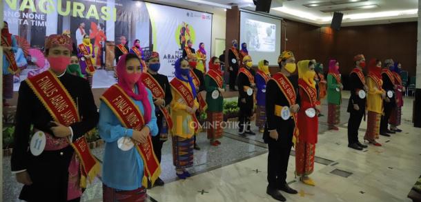 Pengukuhan 30 Finalis Abang Dan None Jakarta Timur
