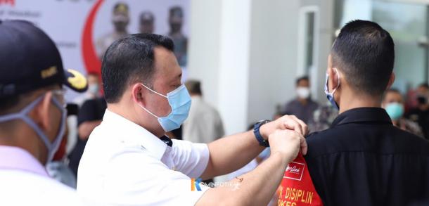 Pengecekan Protokol Kesehatan Di Apartemen Signature Park Grande Cawang