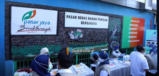 Sidak Pangan Jelang Ramadan Di Pasar Jatinegara